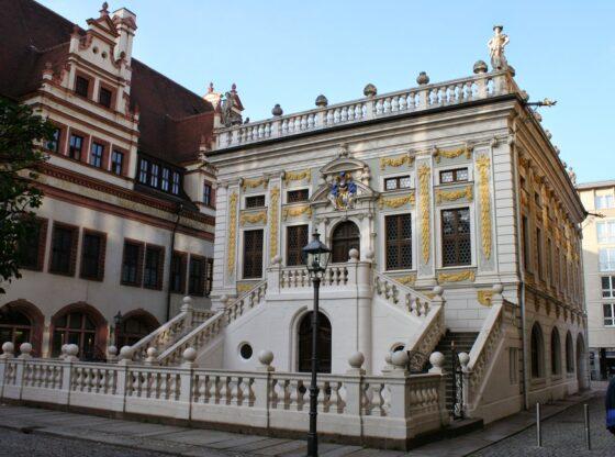 Alte Handelsbörse in der Leipziger Innenstadt