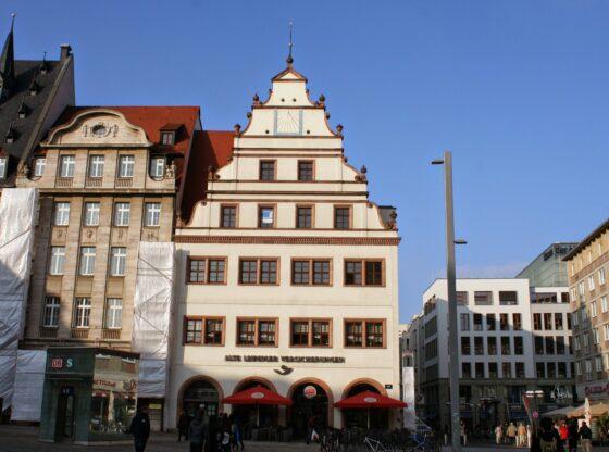Alte Waage am Leipziger Markt