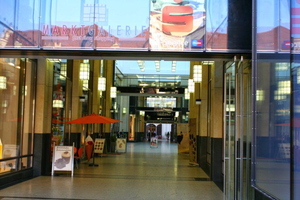 Blick in die Marktgalerie