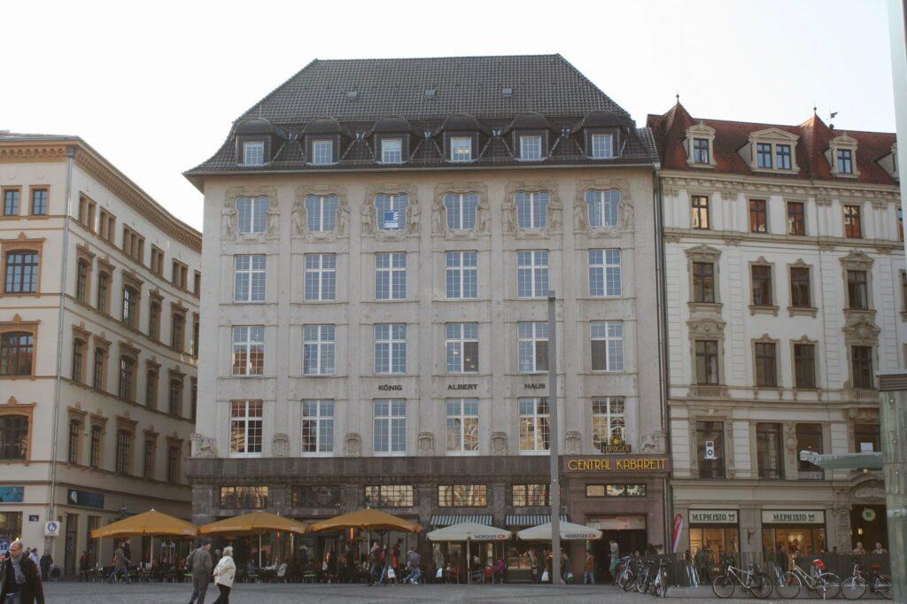 König-Albert-Haus von Emil Franz Hänsel von 1913
