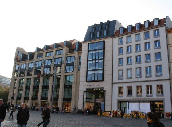 Marktgalerie am Leipziger Marktplatz