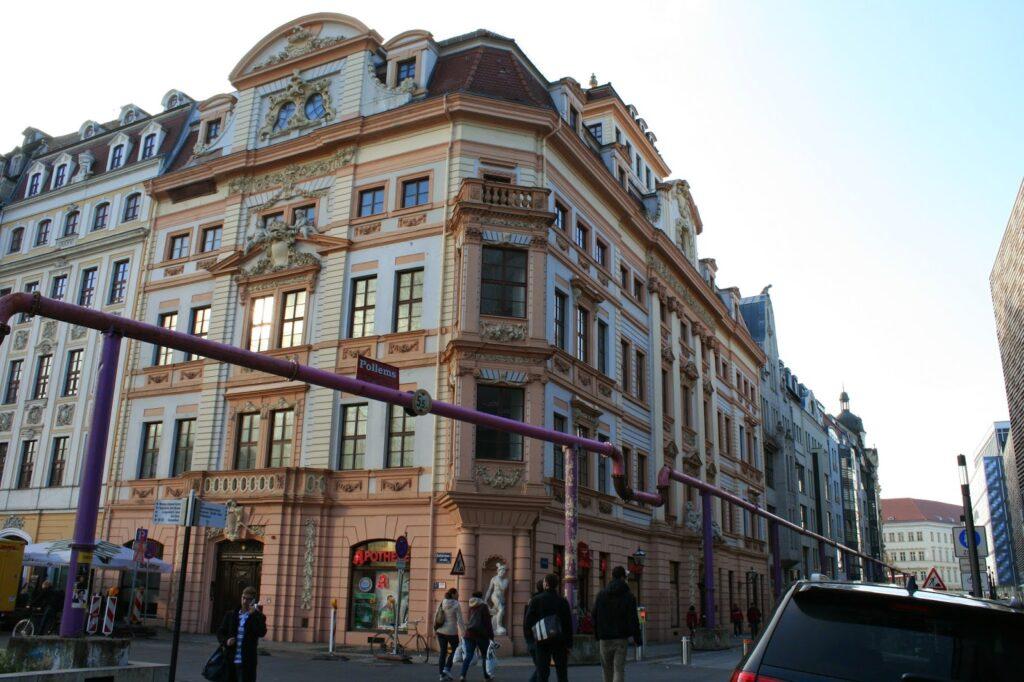 Romanushaus in der Leipziger Innenstadt