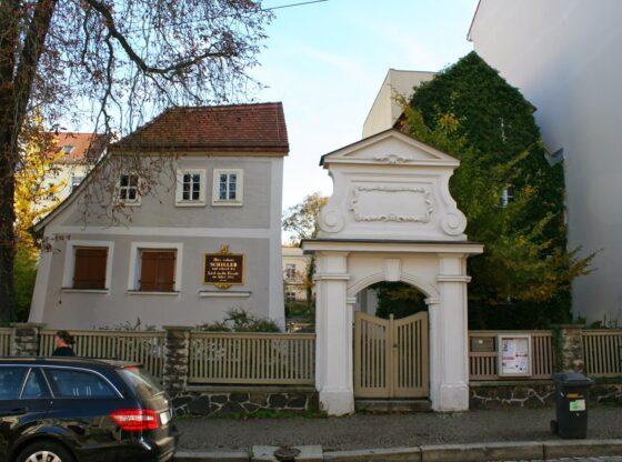 Schillerhaus im Leipziger Stadtteil Gohlis