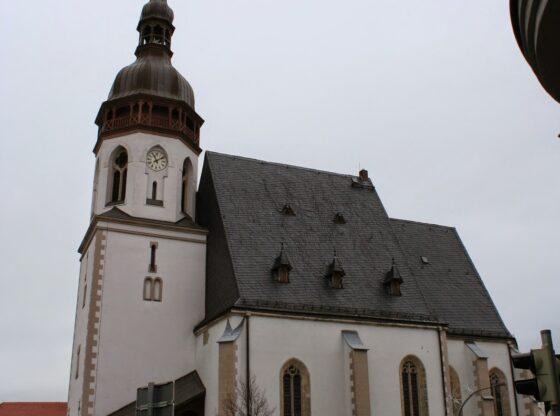 St. Laurentiuskirche auf dem Markt in Markranstädt