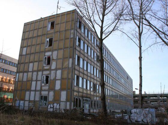 Ehemaliges Hauptzollamt sowie Zoll-Lehranstalt im Leipziger Täubchenweg
