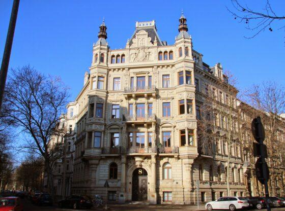 Palais Roßbach in der Beethovenstraße 8