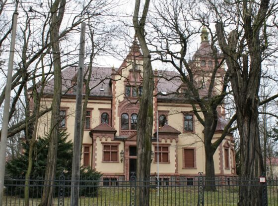 Thorer-Villa in der Rathenaustraße 40 Leutzsch