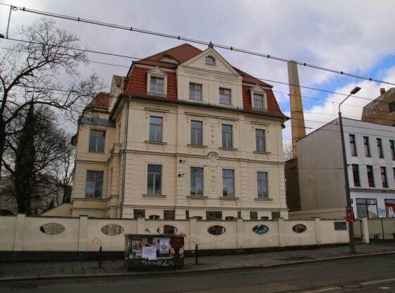 Villa Frosch in Leipzig Plagwitz