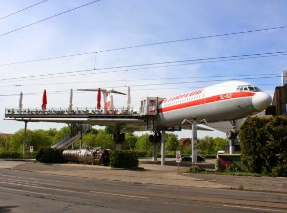 IL-62 Restaurant in Leipzig