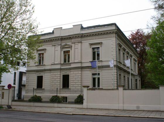 Klinger Villa in der Karl-Heine-Strasse Leipzig