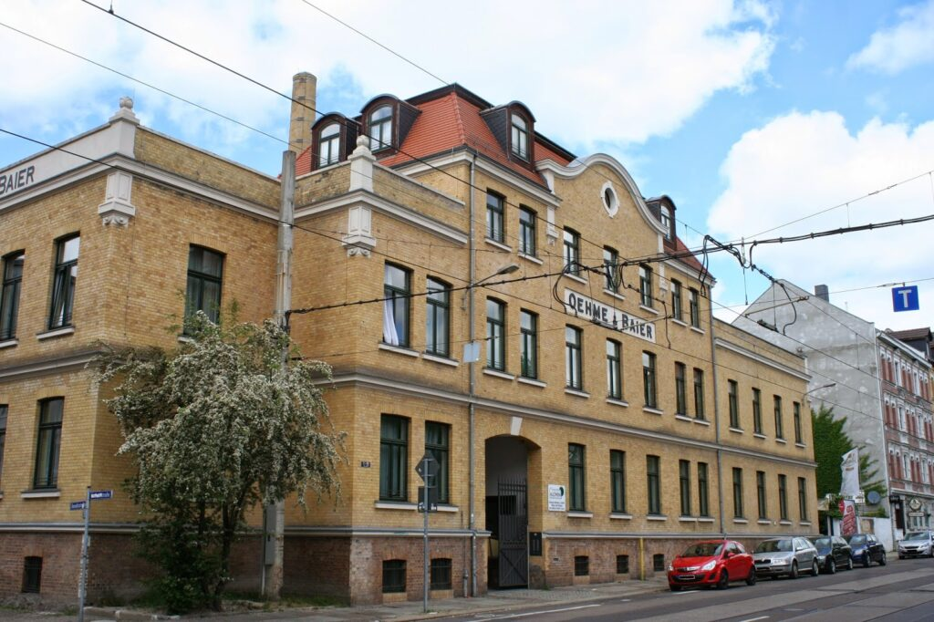 ehemalige Aromafabrik Oehme & Baier - später VEB Aromatic