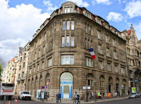 ehem. Bankhaus Meyer & Co. ion der Leipziger Innenstadt von Architekt Peter Dybwad