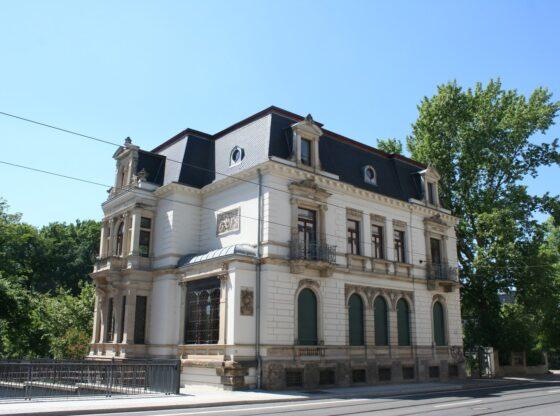 ehem. Villa Davignon im Leipziger Bachviertel