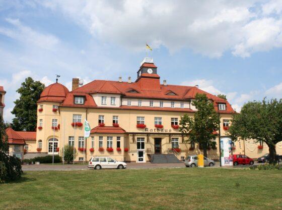 das Markkleeberger Rathaus