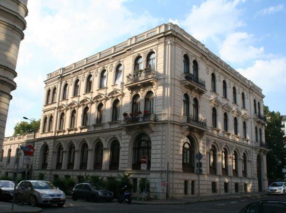 Verlagshaus C.F. Peters in der Leipziger Talstrasse