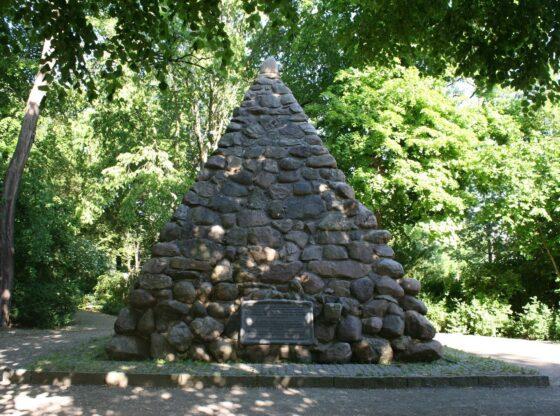 Gletschersteinpyramide Stötteritz