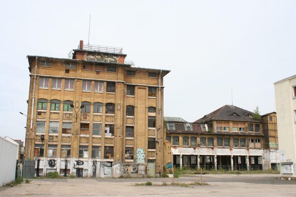 Maschinenfabrik Christian Mansfeld Fabrikhalle