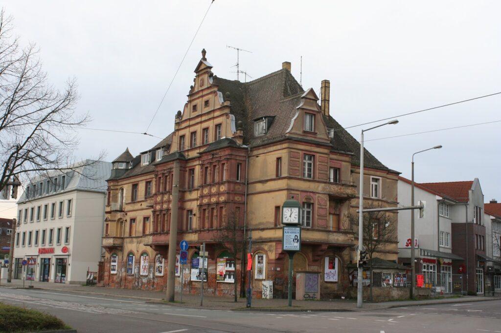 alte Mockauer Post an der Ecke Mockauer- Essener Strasse