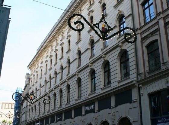 ehem. Hotel de Pologne in der Leipziger Hainstrasse