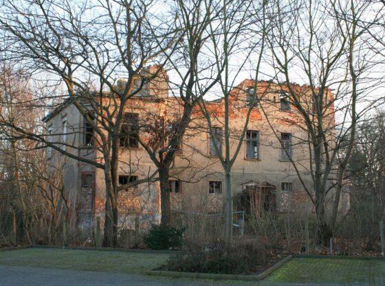 ehem. Herrenhaus am Rittergut Mockau Leipzig an der Kieler Strasse