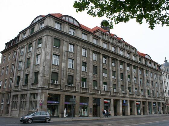 Gebäude Lipanum - Handelshochschule - am Martin-Luther-Ring