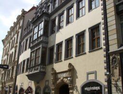 Webers Hof in der Leipziger Hainstrasse