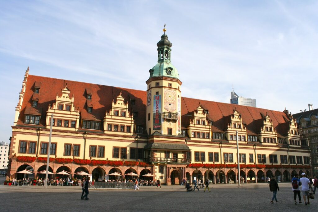 Das Alte Leipziger Rathaus am Markt