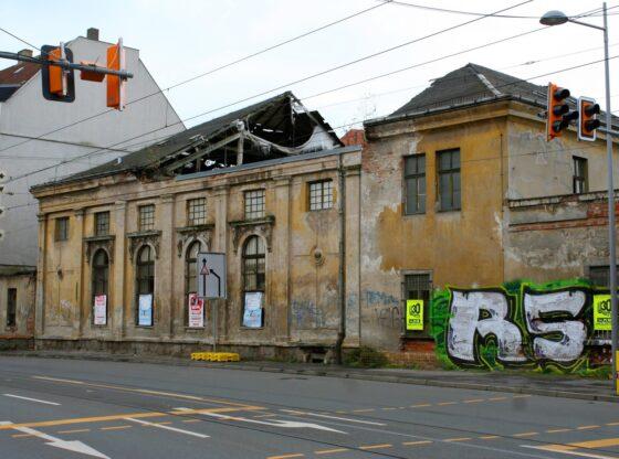 """ehemaliger Gasthof """"Zum Reiter"""" in Leipzig Dölitz"""