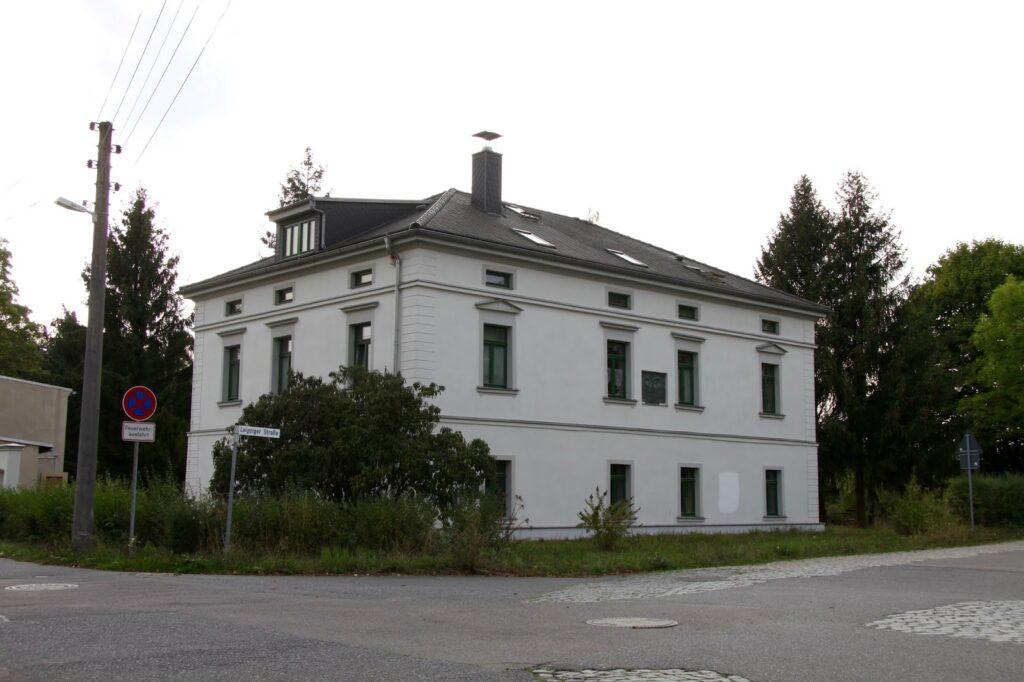 Das Bebel-Liebknecht-Haus in Borsdorf, hier lebten Wilhelm Liebknecht und August Bebel