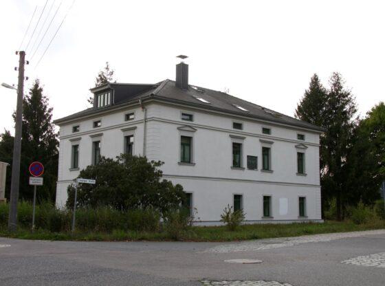 Das Bebel-Liebknecht-Haus in Borsdorf