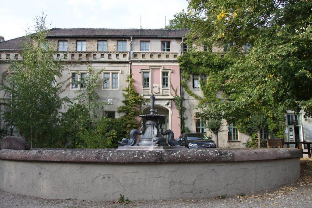 historischer Brunnen in Püchau
