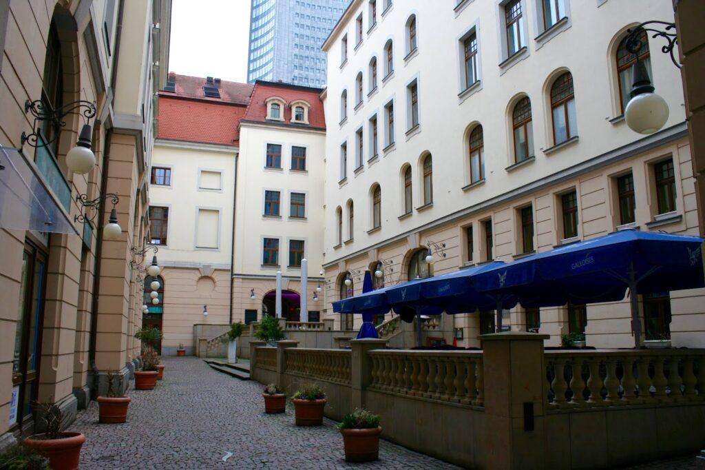 Leipzigs Städtisches Kaufhaus Innenhof