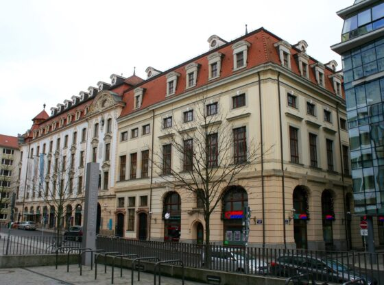 Städtisches Kaufhaus Leipzig Universitätsstrasse