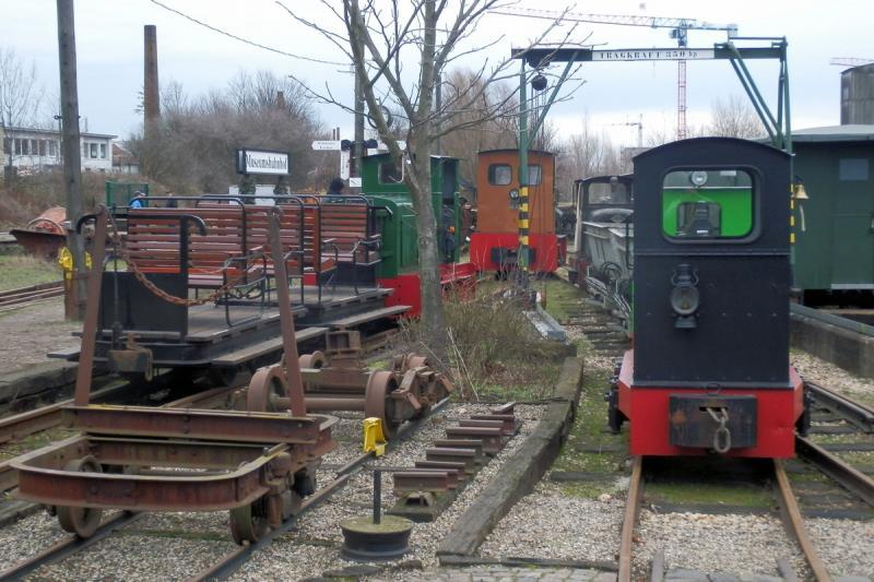 Museumsfeldbahn am Lindenauer Hafen Leipzig