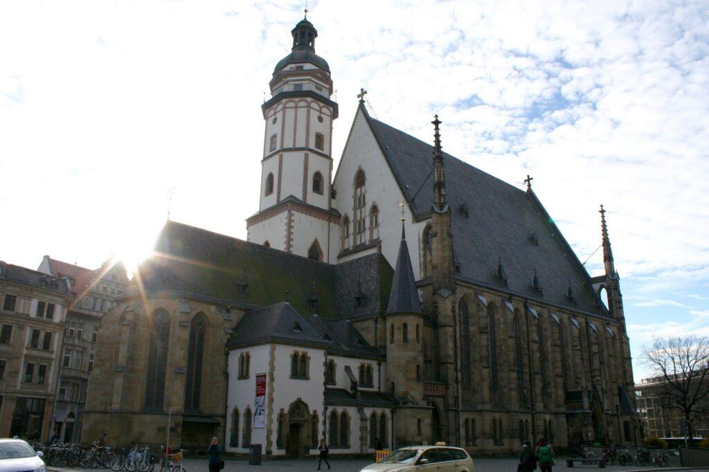 Thomaskirche im Thomaskirchhof Leipzig