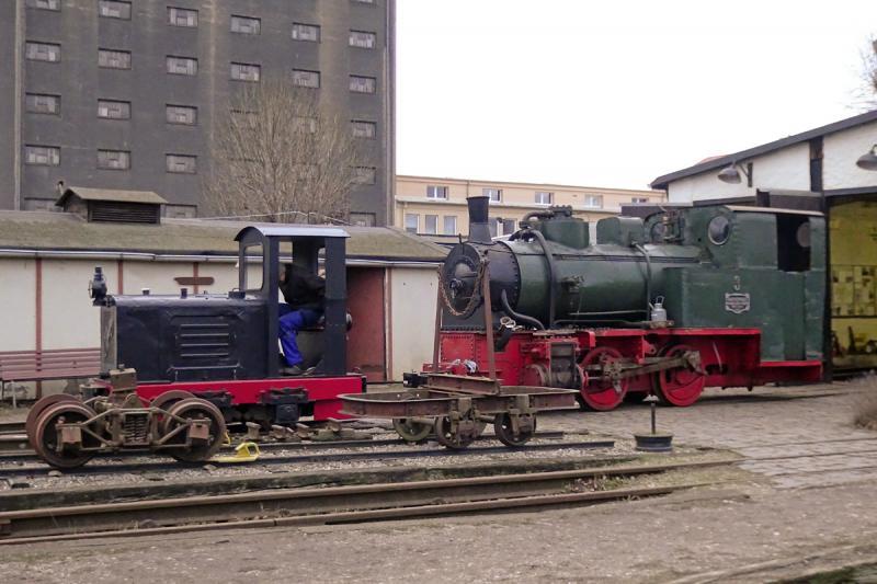ehemalige Kiesbahn am Lindenauer Hafen Leipzig