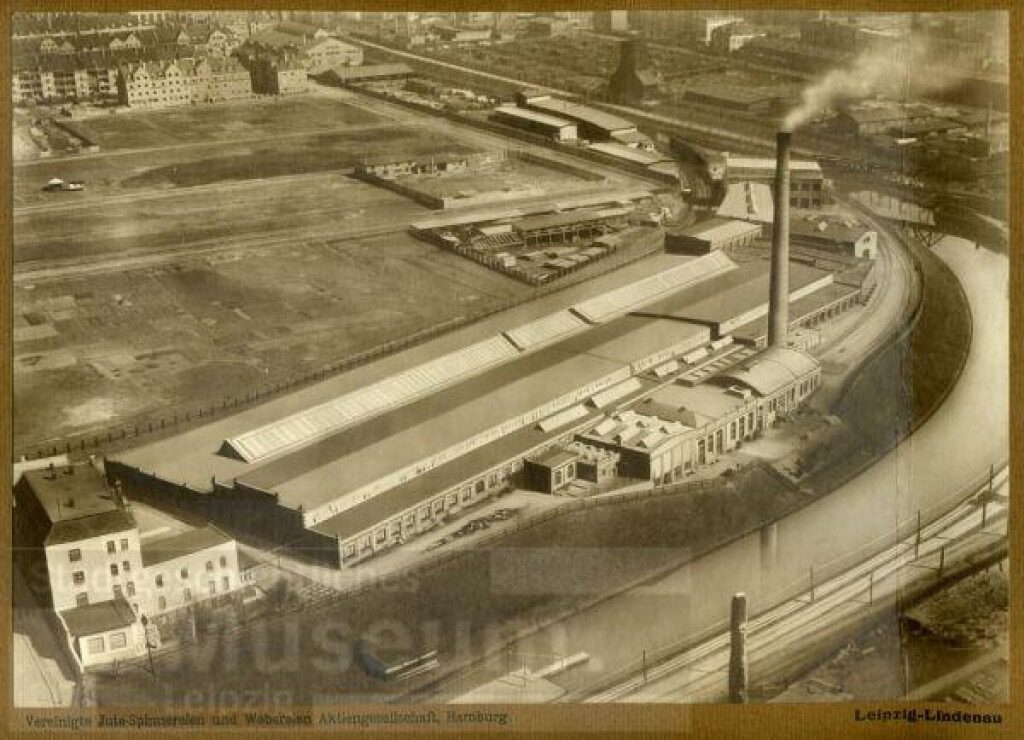 Foto des Fabrikgeländes um 1925 oder 1935