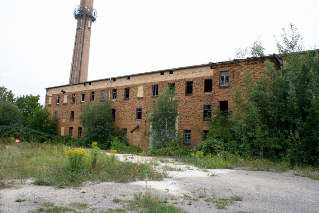 Fabrikhalle der alten Ziegelei an der Naunhofer Landstrasse in Liebertwolkwitz