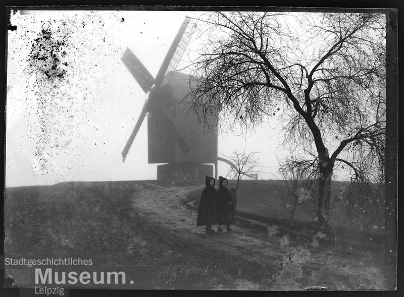 Mühle Holzhausen um 1920/1930. Fotograf: Johannes Mühler. Quelle: Stadtgeschichtliches Museum Leipzig.