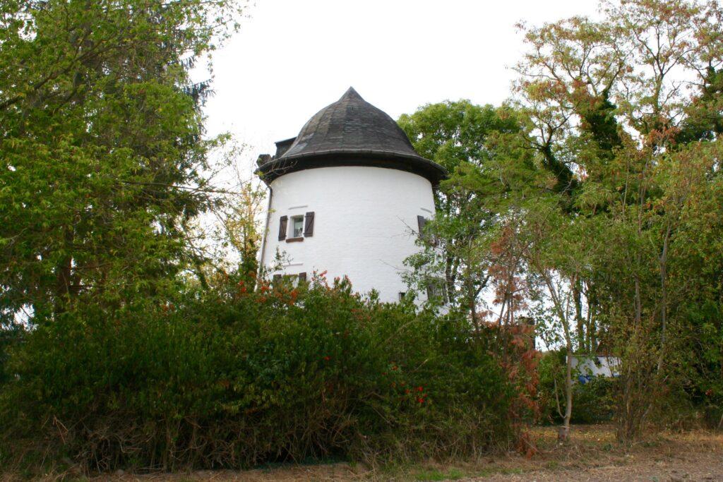 Holländermühle an der Albersdorfer Straße in Gören bei Leipzig