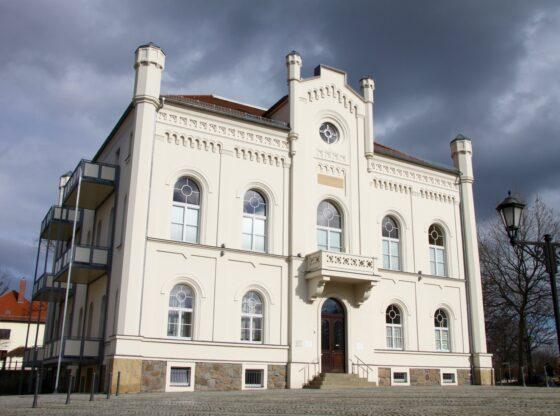 Altes Rathaus und Ratskeller in Zwenkau