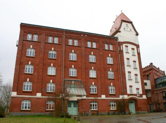 Die alte Weizen-Mühle in Leipzig Knauthain