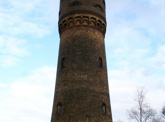 Wasserturm im Leipziger Stadtteil Großzschocher