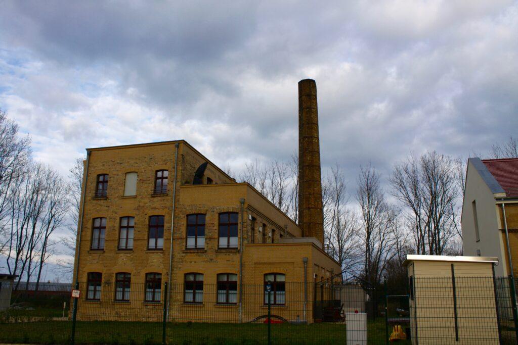 Fabrikgebäude der Ziegelei Kornagel in Stötteritz - ehemaliges Kessel- und Maschinenhaus