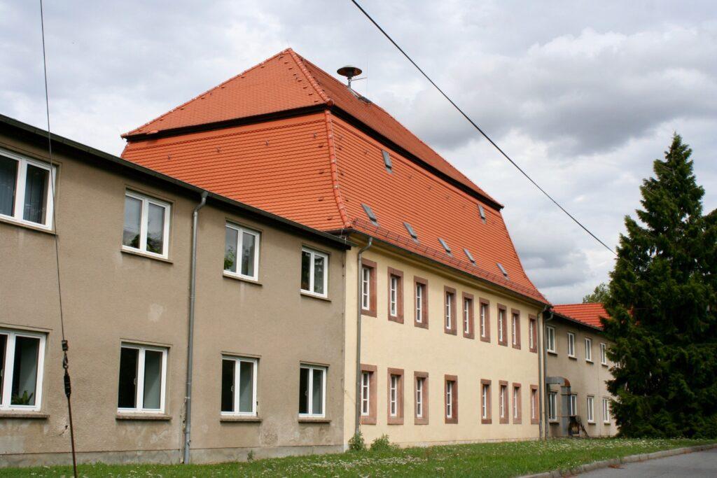 Herrenhaus des ehemaligen Rittergutes Cunnersdorf bei Panitzsch, Borsdorf und Taucha