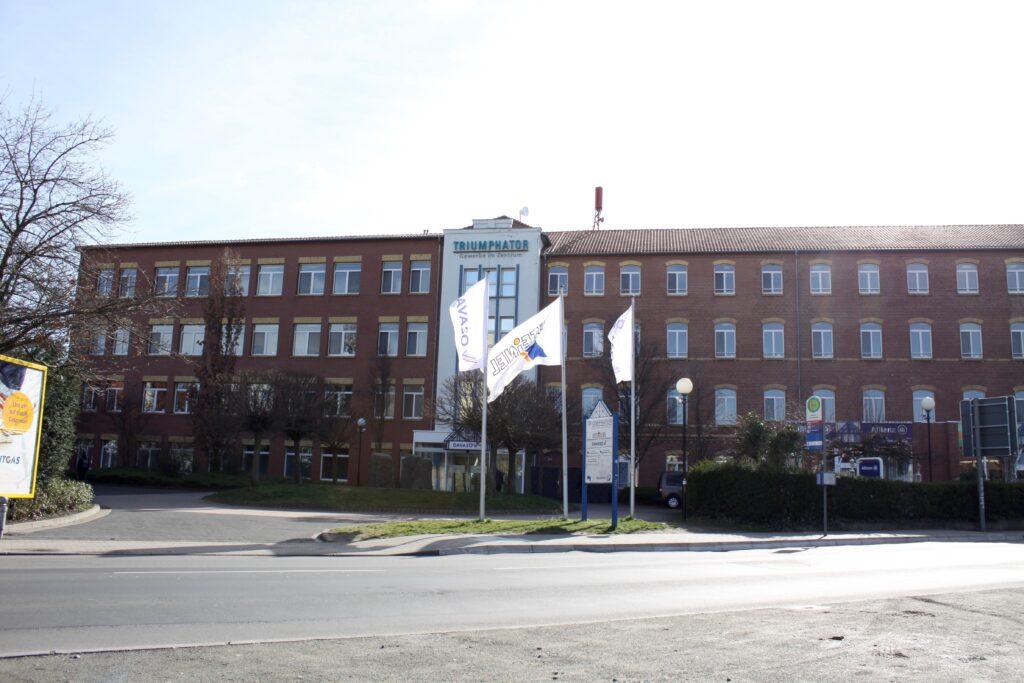 Triumphator Werk im Leipziger Stadtteil Mölkau