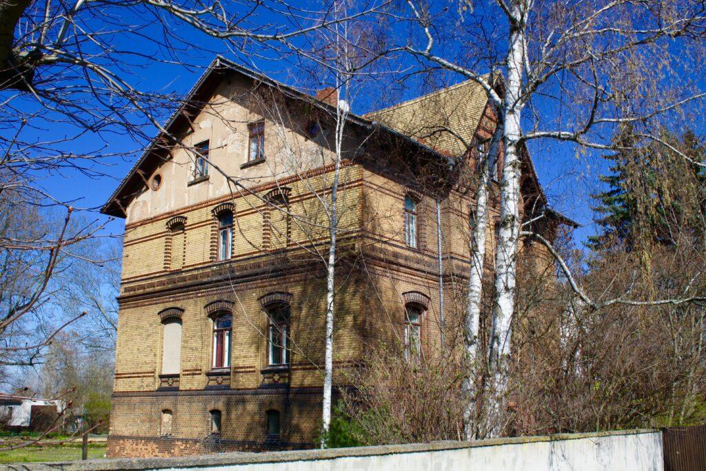 ehemalige Villa des Ziegeleibesitzers Kretschmann in Borsdorf