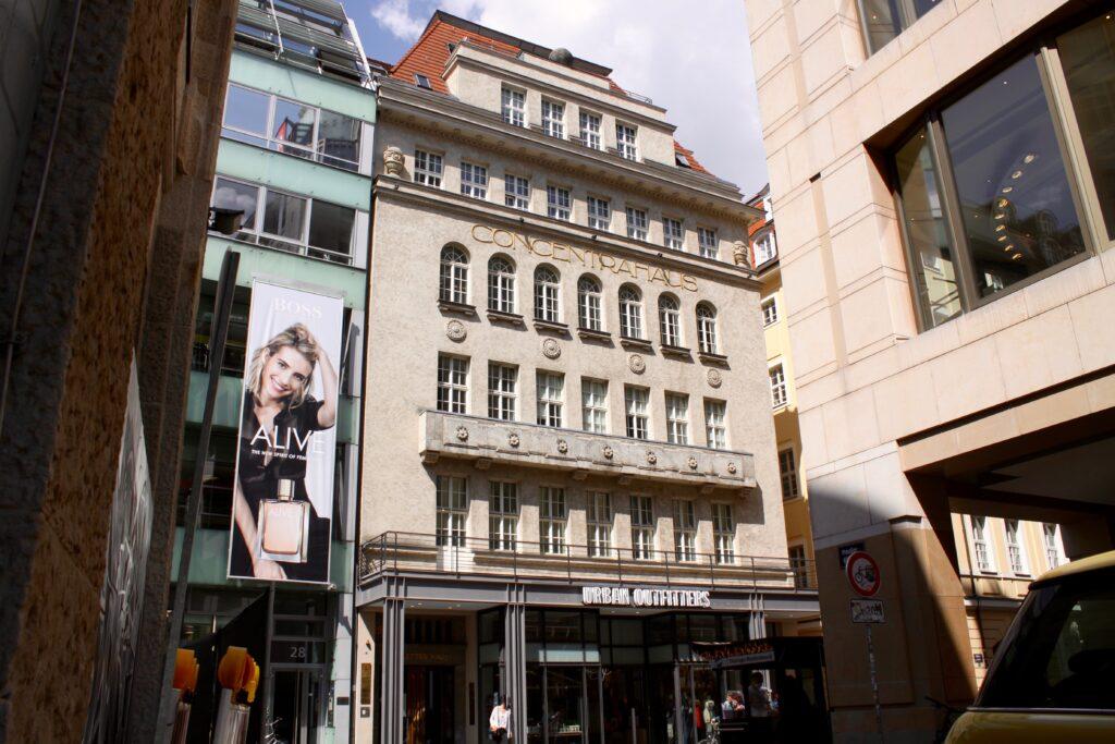Concentra-Haus in der Petersstraße - Ecke Sporergäßchen