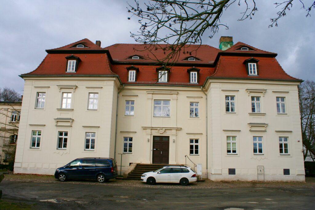 Schloss Markkleeberg - Mitte des 18.ten Jahrhunderts errichtet