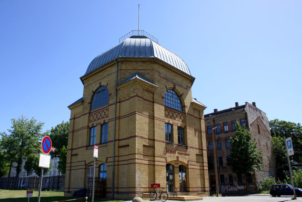 ehemalige Maschinenfabrik Ernst Kirchner & Co. in Sellerhausen